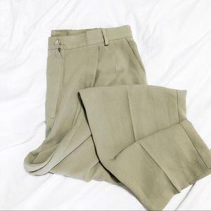 Vintage Pistachio Green Trouser Pants